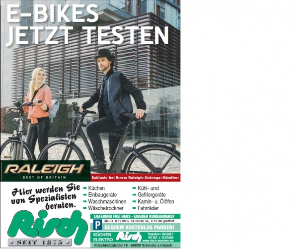 Raleigh E-Bike